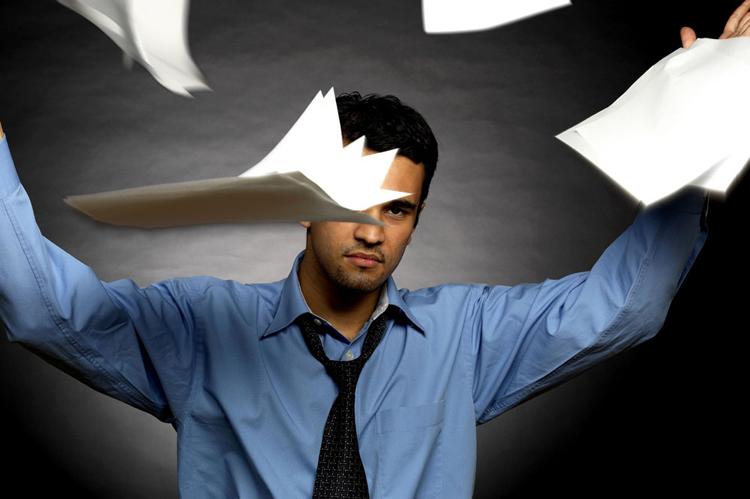 职场--有多少事坏在一时的脾气上