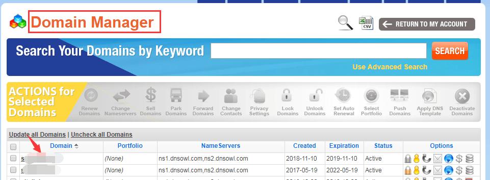 购买付费Comodo SSL证书及安装配置图文教程9,Namesilo添加CNAME记录1