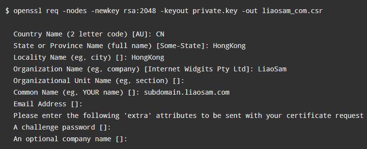 购买付费Comodo SSL证书及安装配置图文教程5