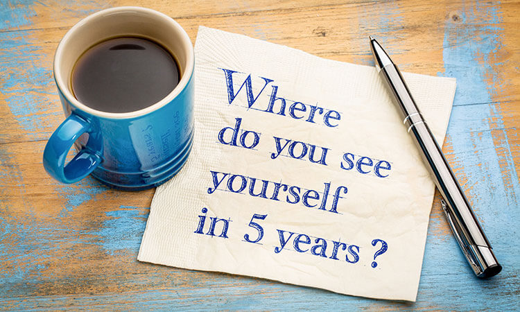 五年后,你会是什么样子?